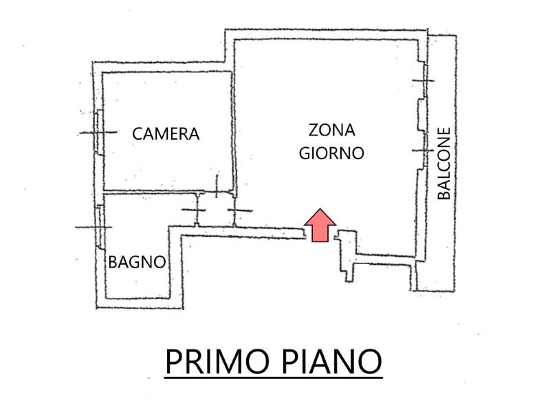 Vendita  bilocale Capriate San Gervasio Via Trieste 1 713707