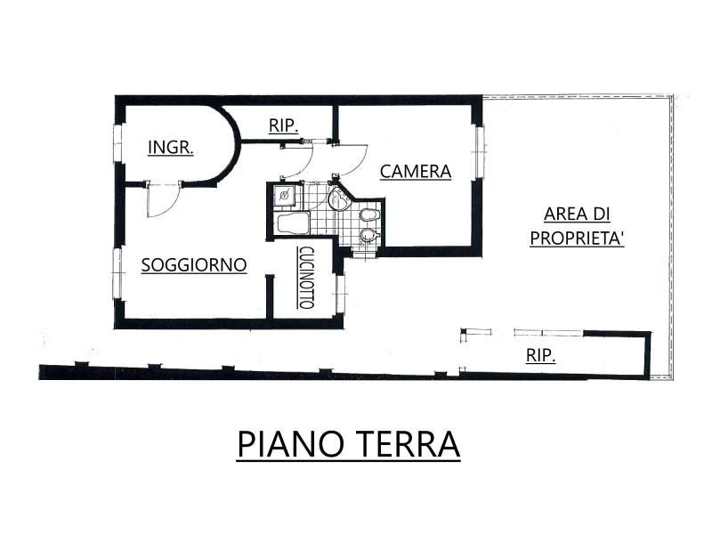 Vendita  bilocale Capriate San Gervasio Vicolo Caravaggio 1 890433