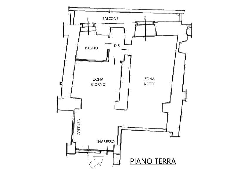 Vendita  bilocale Medolago Piazza Marcoli 1 990615