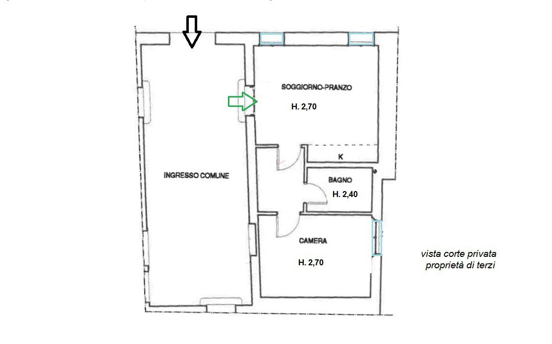 Appartamento ristrutturato in vendita Rif. 7615419