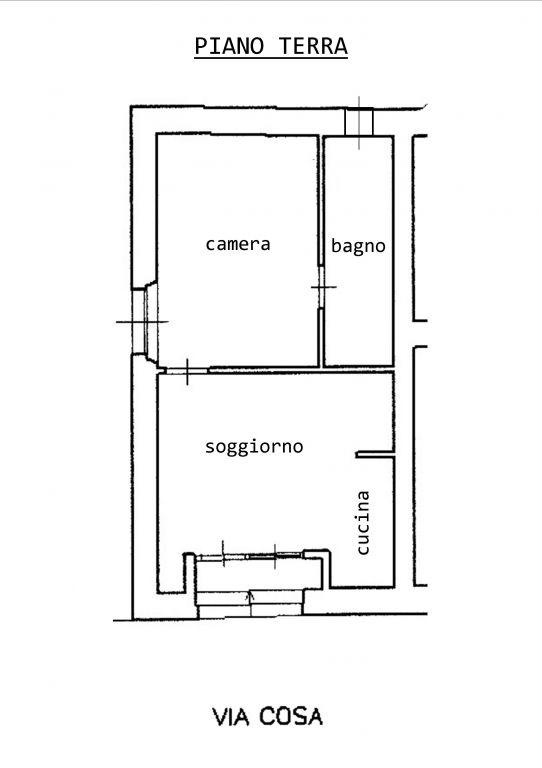 Vendita  bilocale Grosseto Via Cosa 1 711743