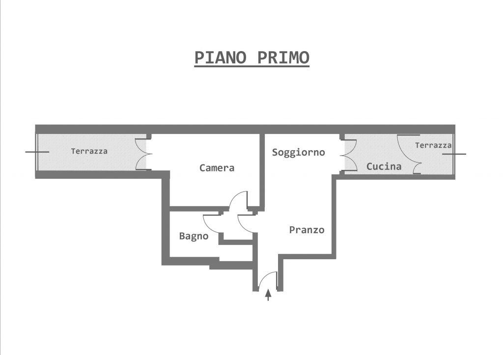 Vendita  bilocale Grosseto Via Legnano 1 766084
