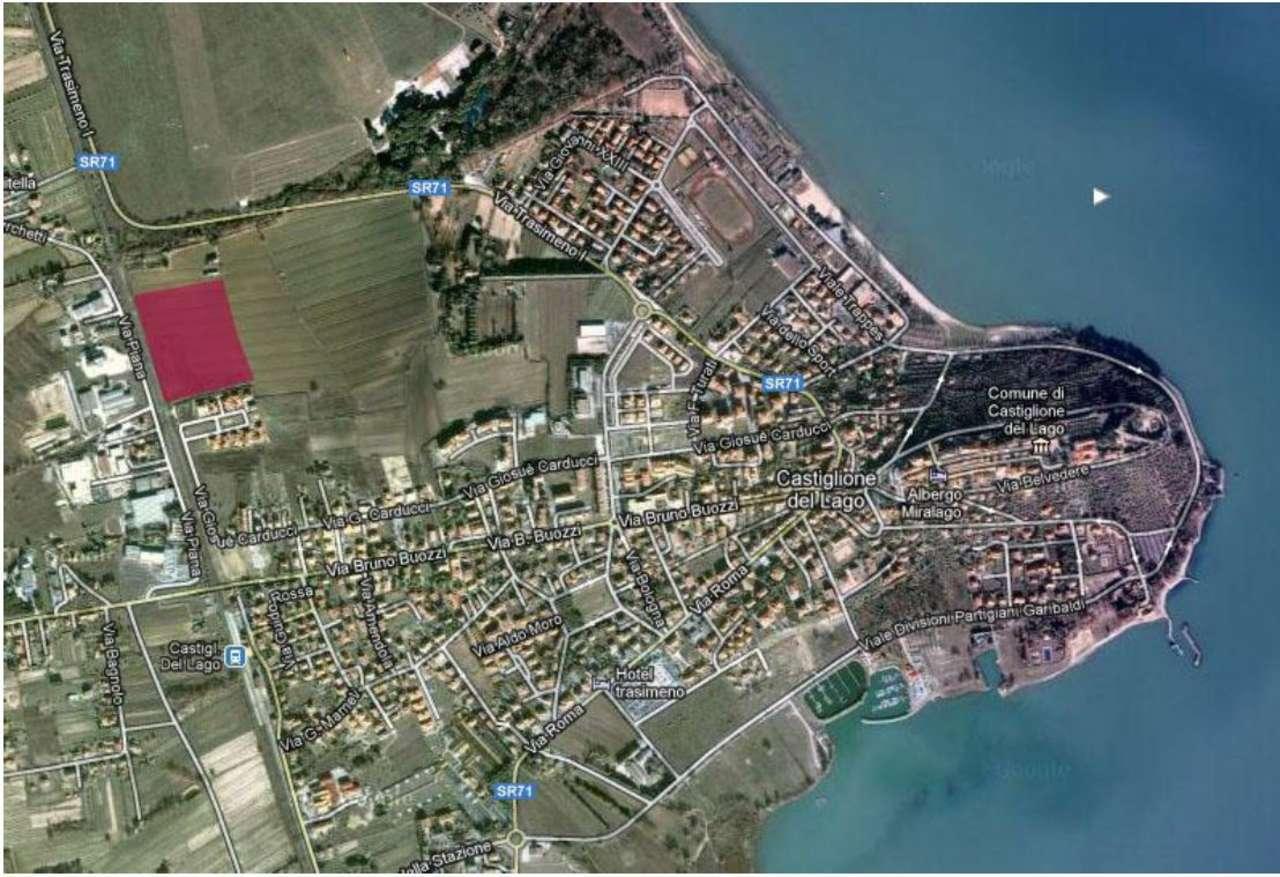 Area edificabile in vendita a Castiglione del Lago (PG)