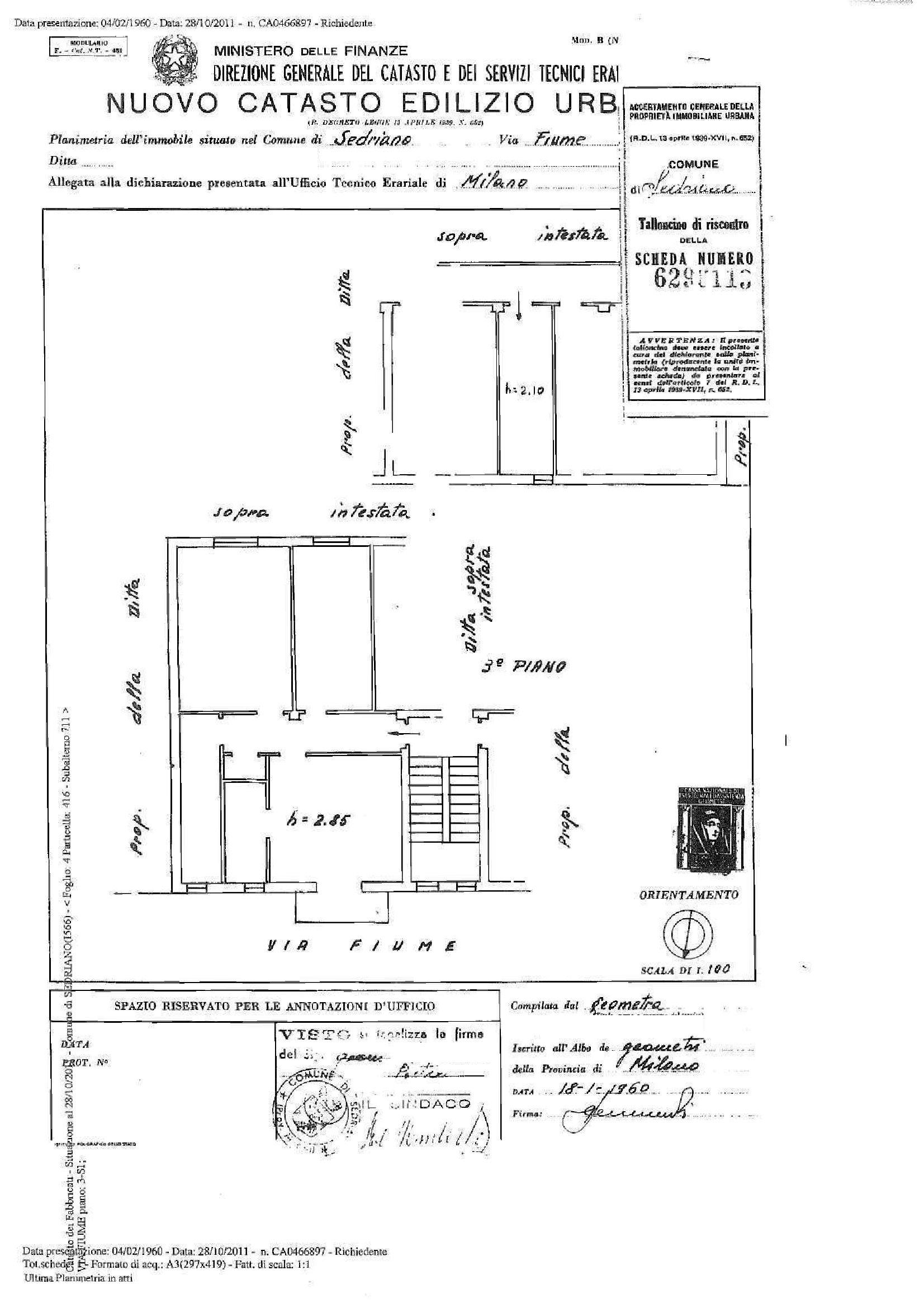 Appartamento in vendita Rif. 10871340