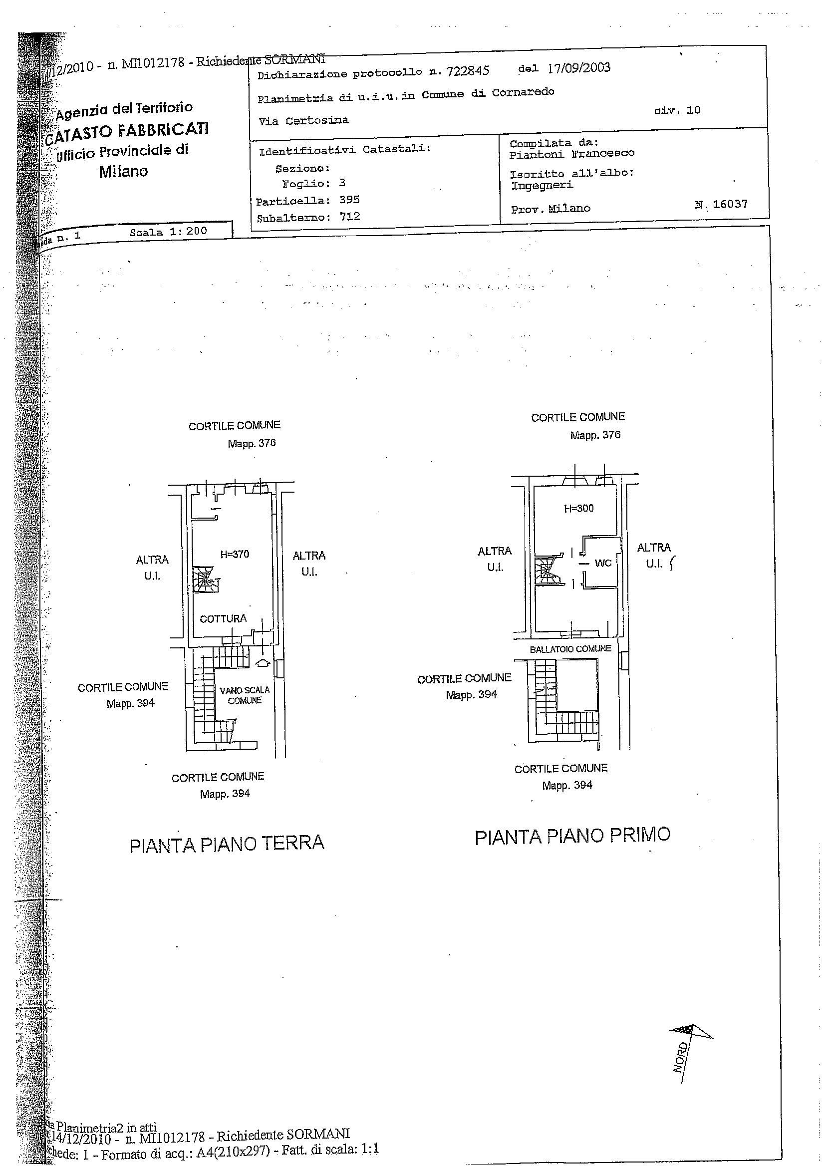 Appartamento in vendita Rif. 11177920
