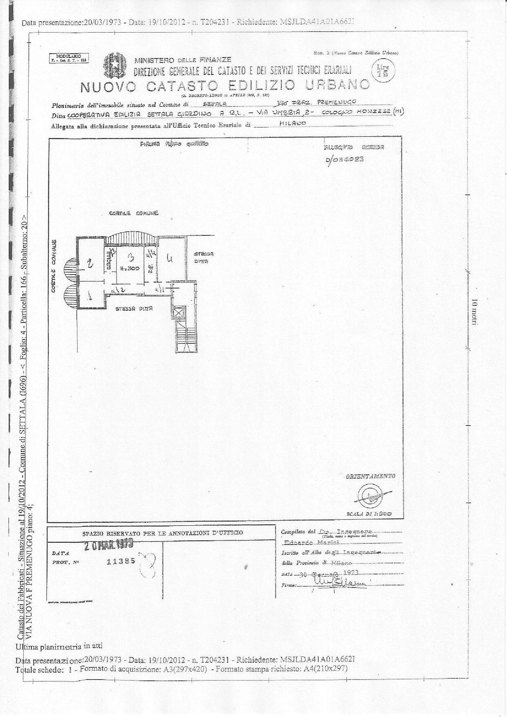 Appartamento in vendita Rif. 10311863