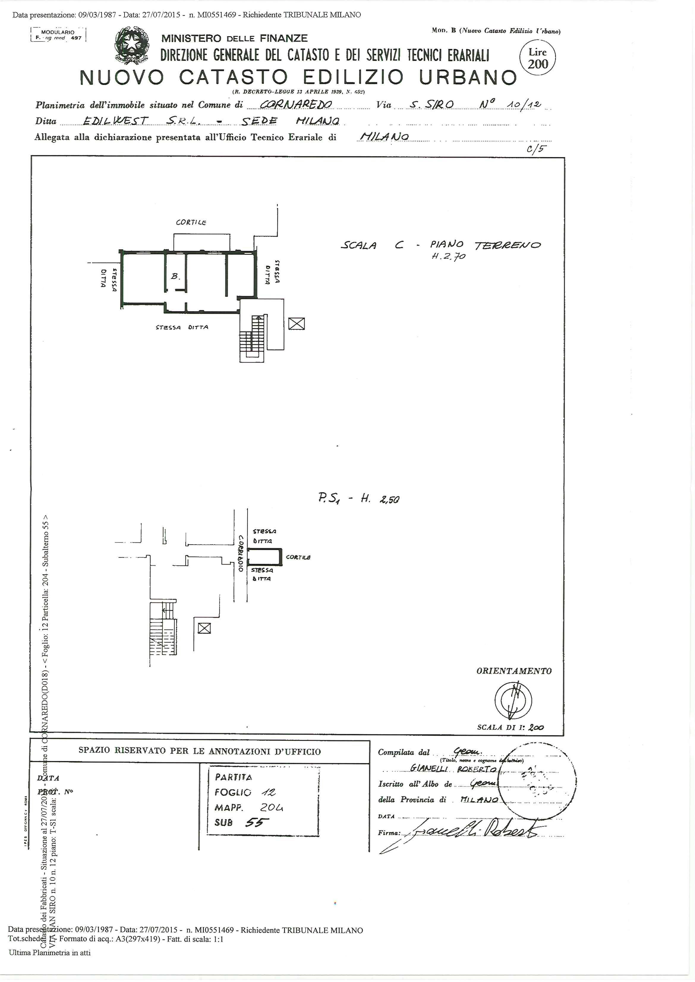 Appartamento in vendita Rif. 7168082