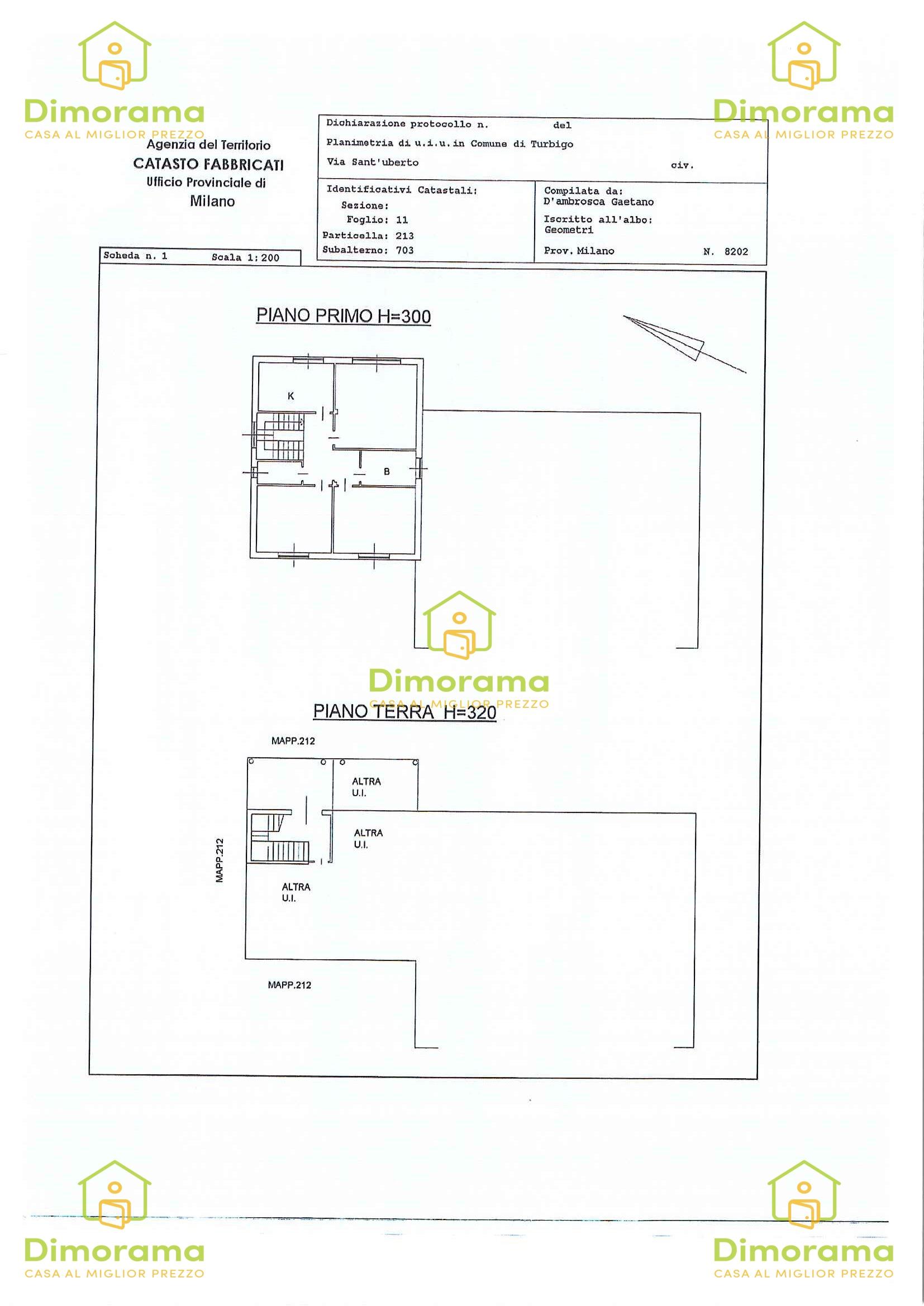 Appartamento in vendita Rif. 10807016
