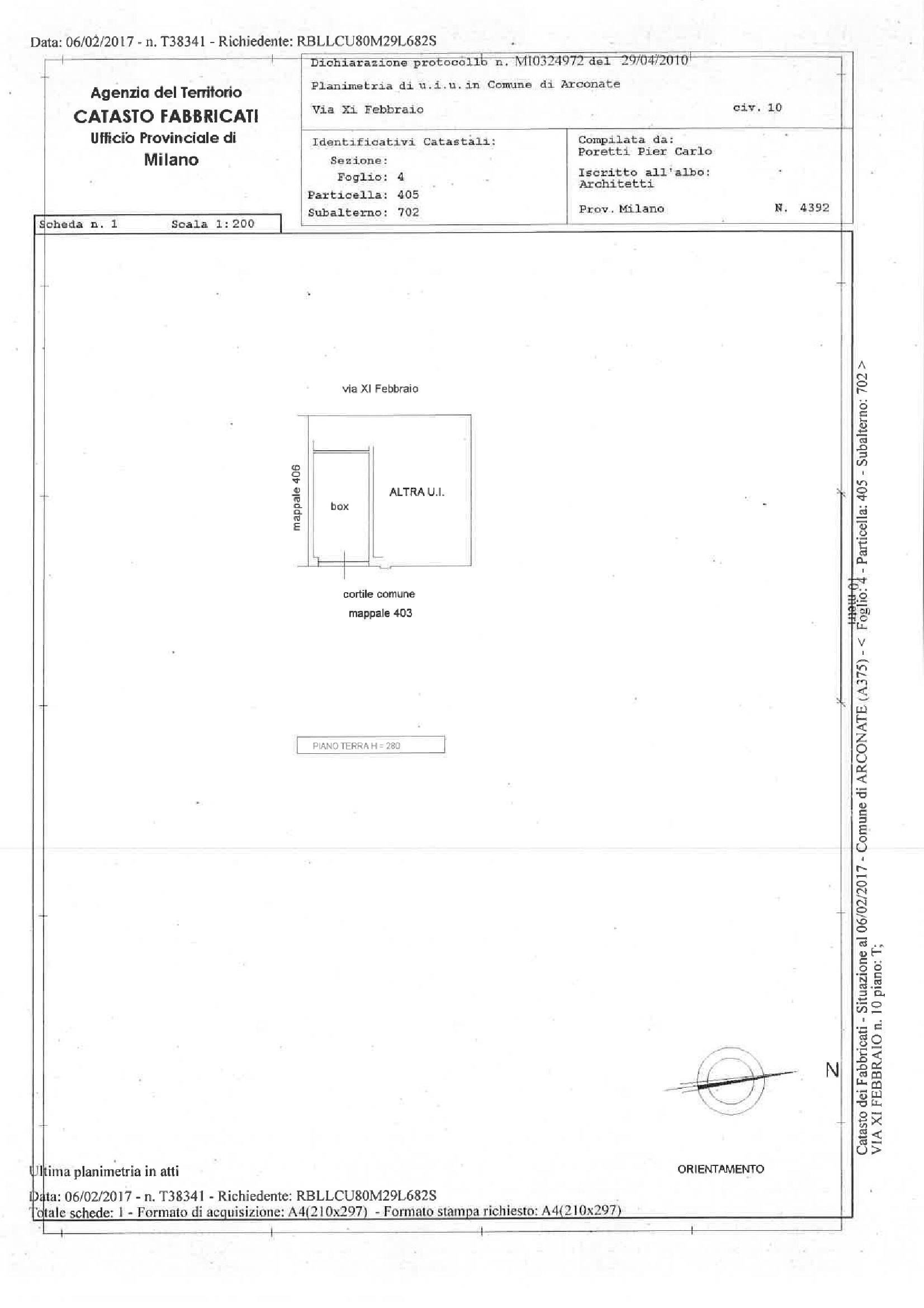 Appartamento in vendita Rif. 10061666