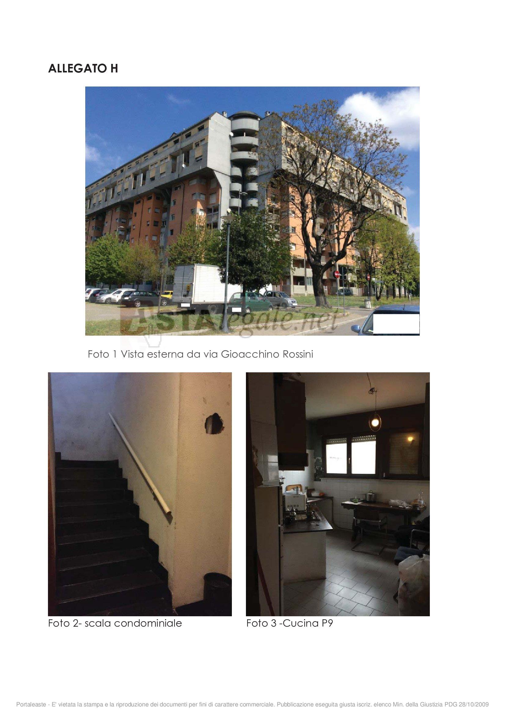 vendita appartamento legnano  Via Gioacchino Rossini 4 87600 euro  3 locali  90 mq