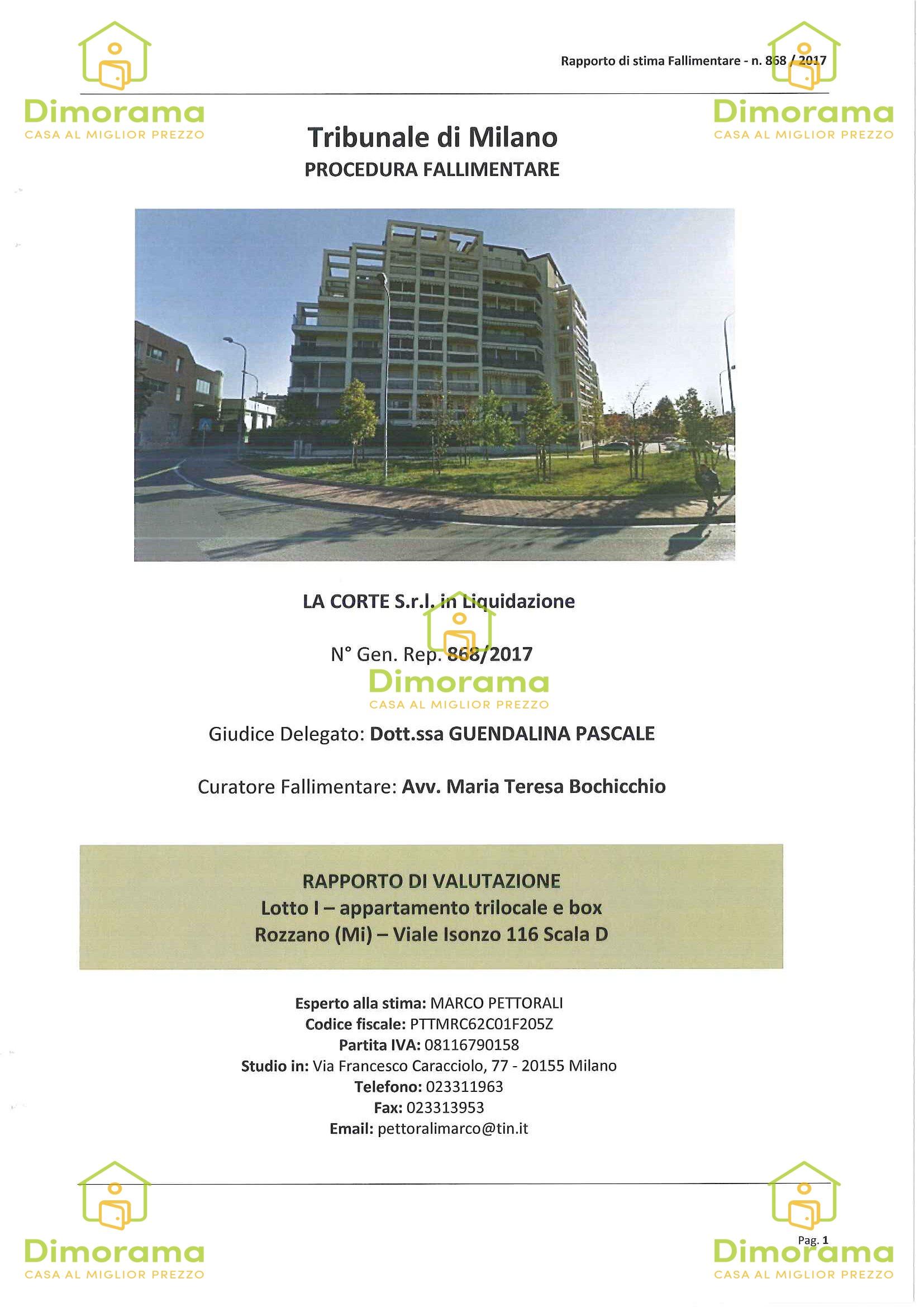 Appartamento in vendita Rif. 10411194