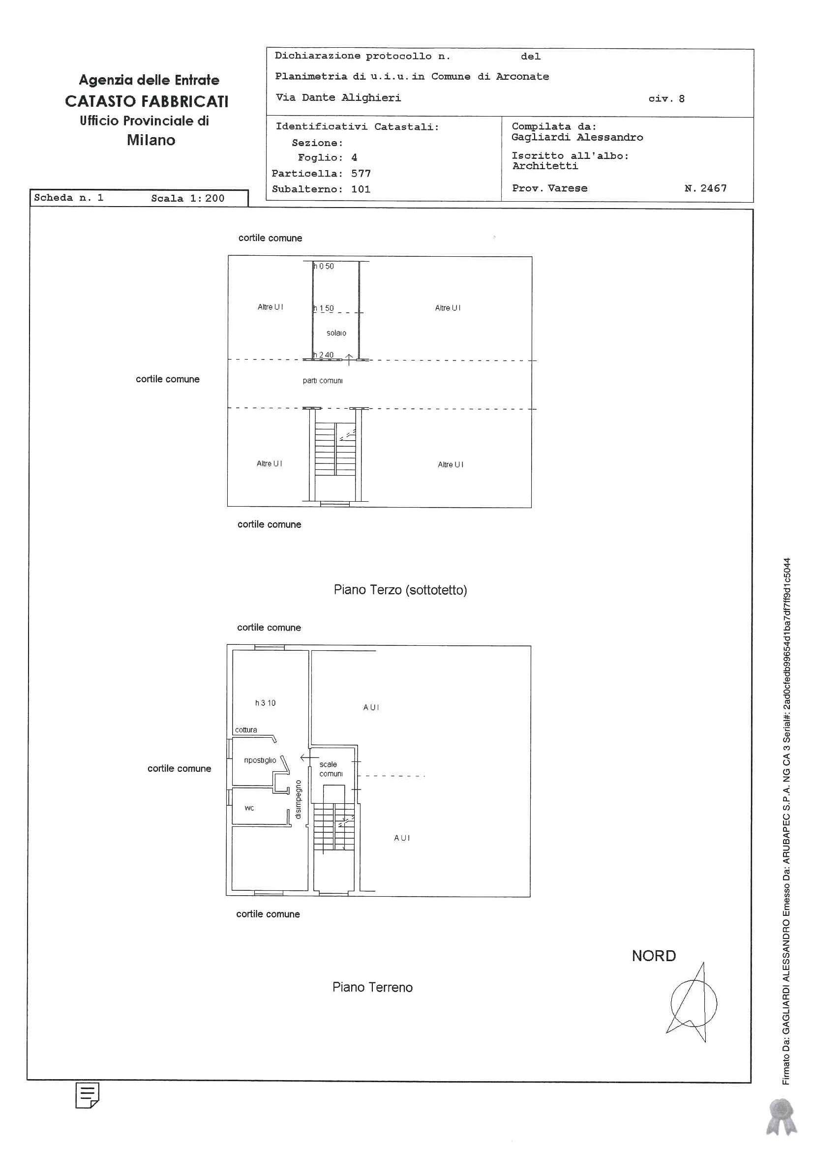 Appartamento in vendita Rif. 10807017