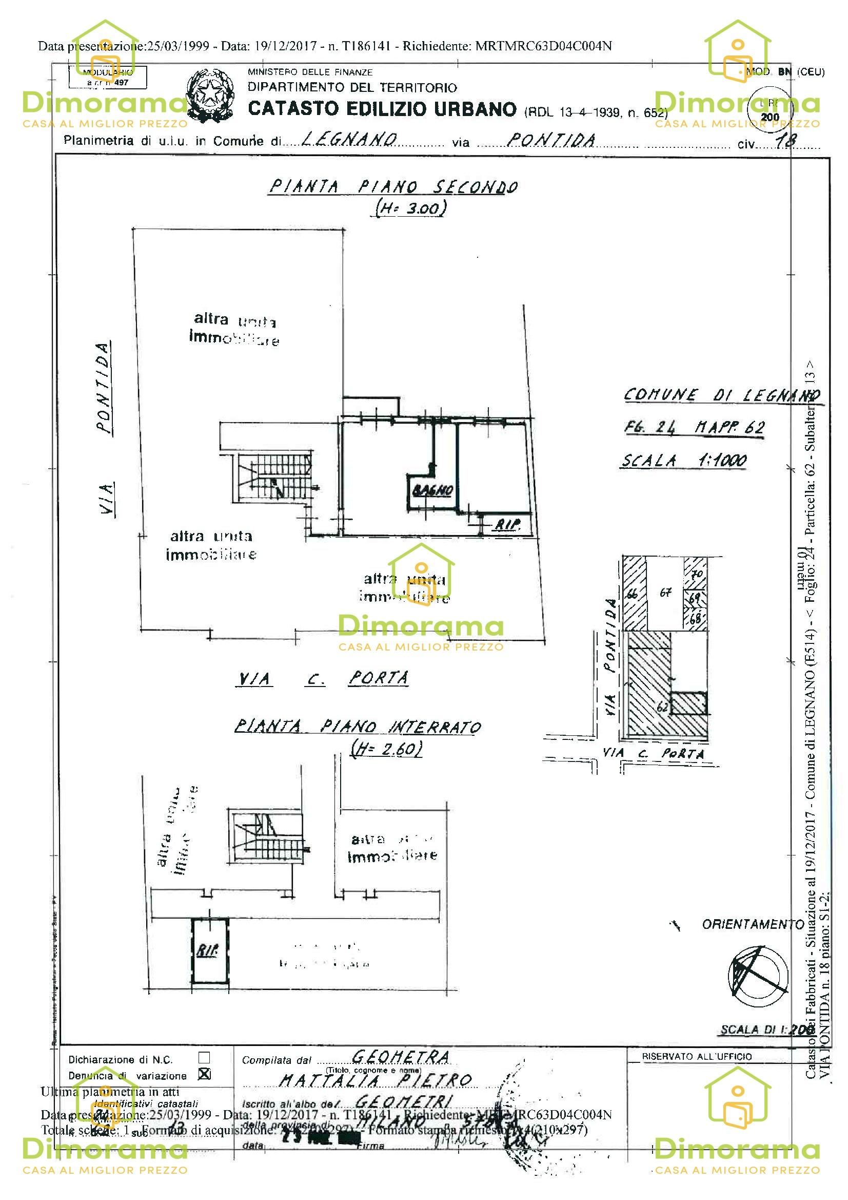 Appartamento in vendita Rif. 12010297