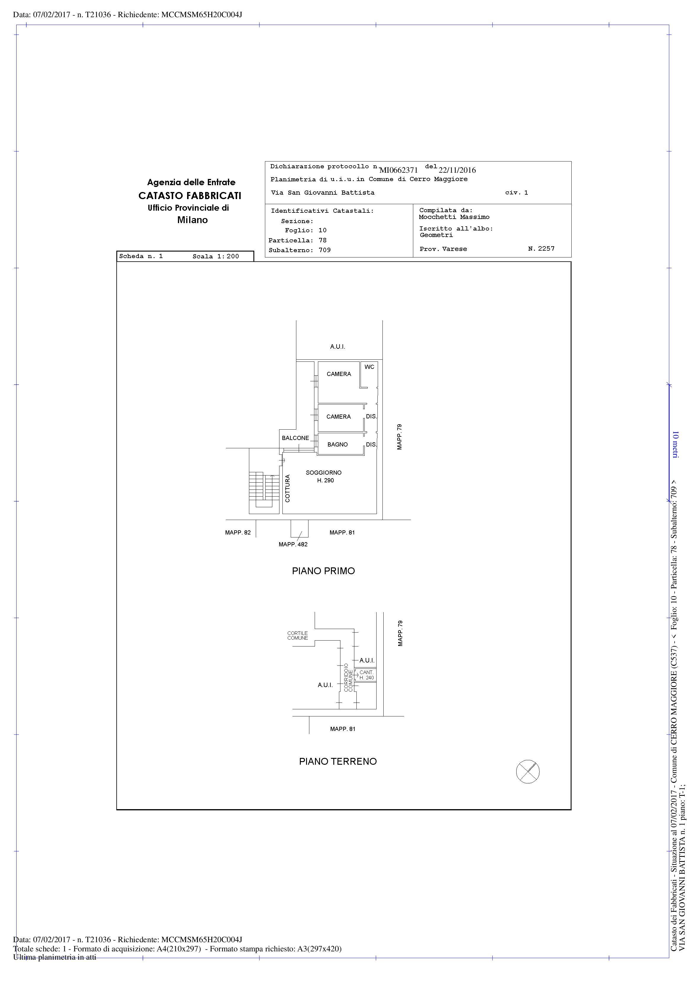 Appartamento in vendita Rif. 10028262