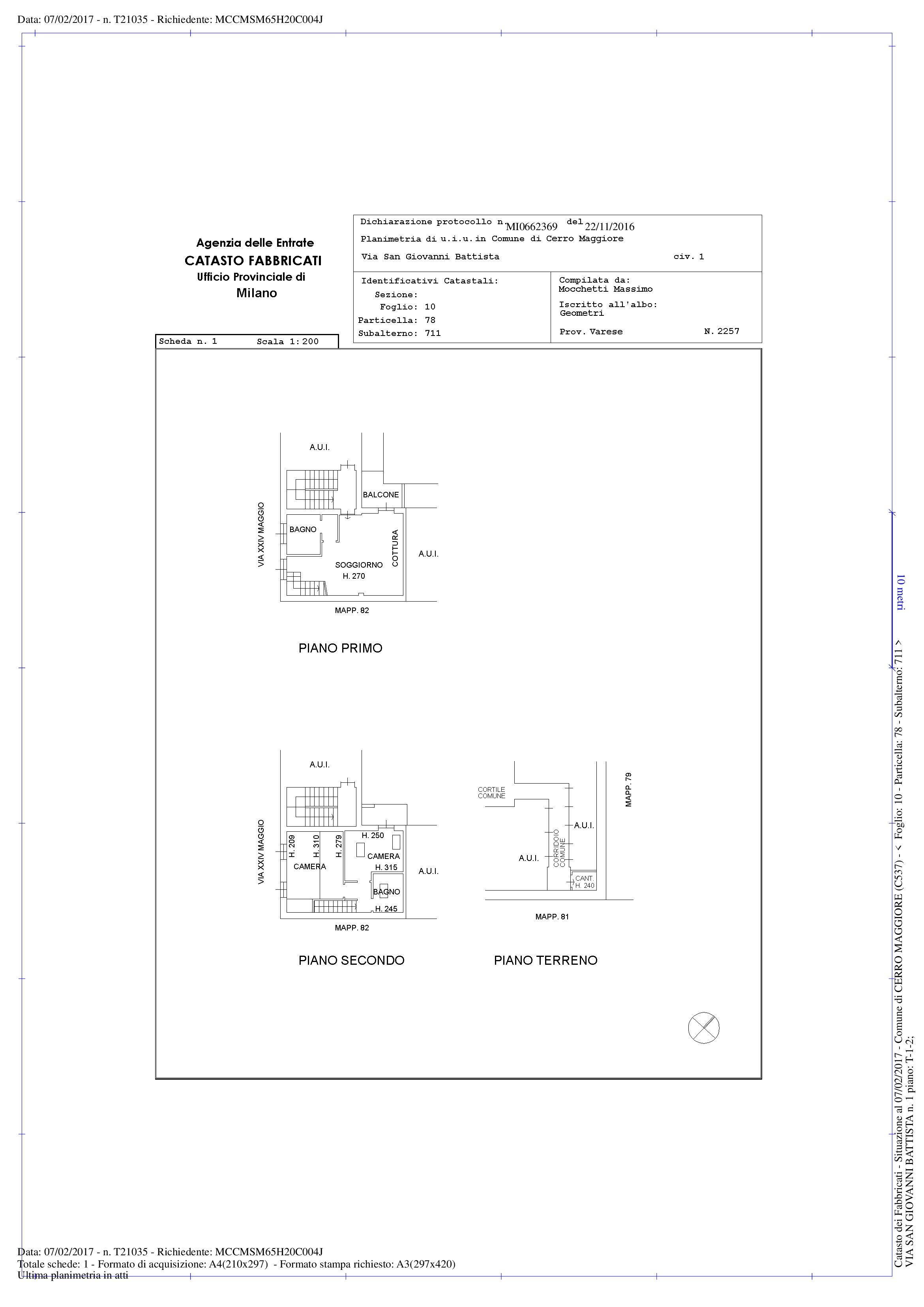 Appartamento in vendita Rif. 10028263