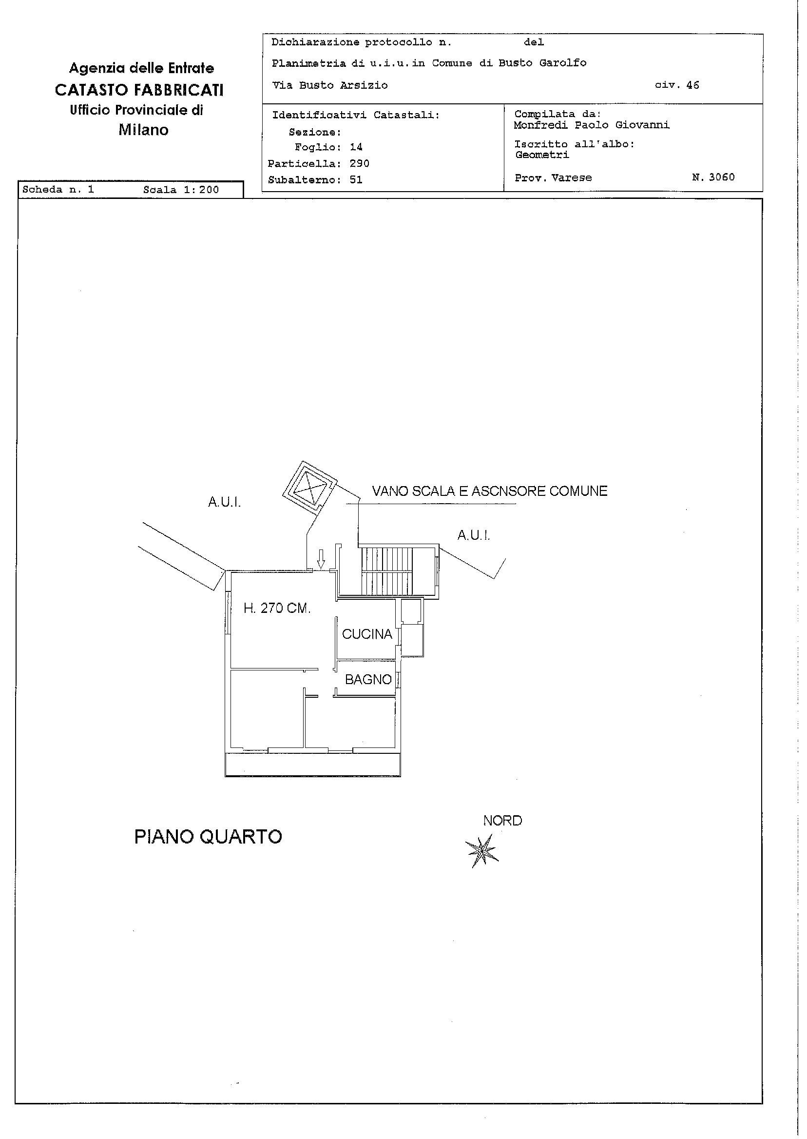Appartamento in vendita Rif. 10807005