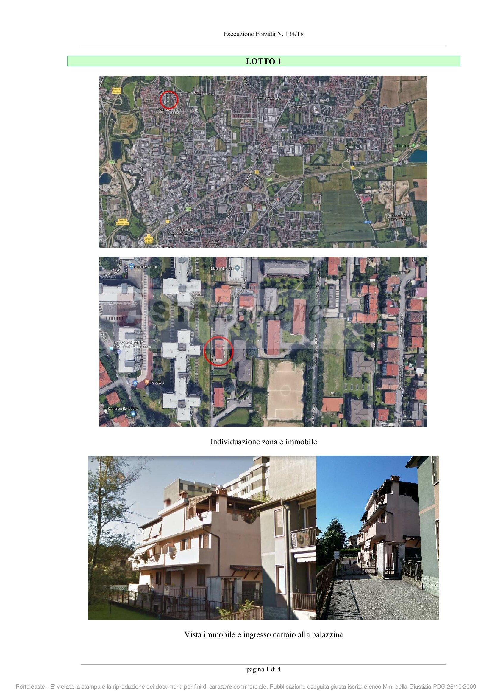 Appartamento in vendita Rif. 9700851