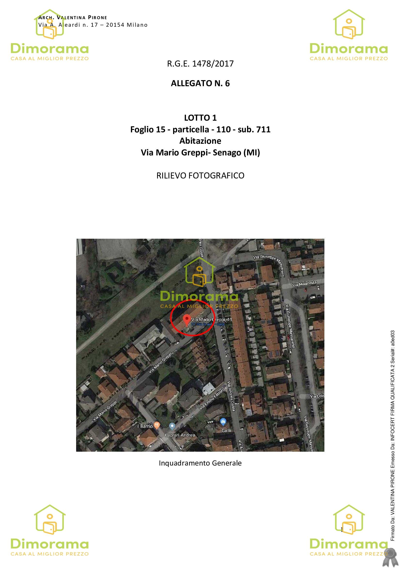 Appartamento in vendita Rif. 11741284