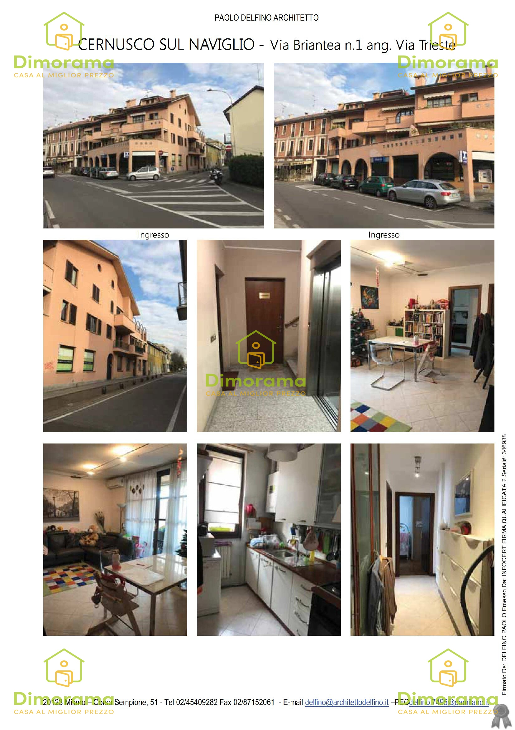 Appartamento in vendita Rif. 10630326