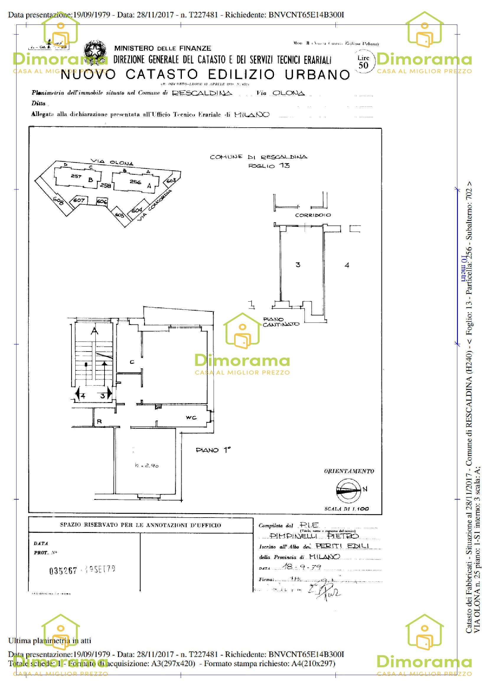Appartamento in vendita Rif. 11680287
