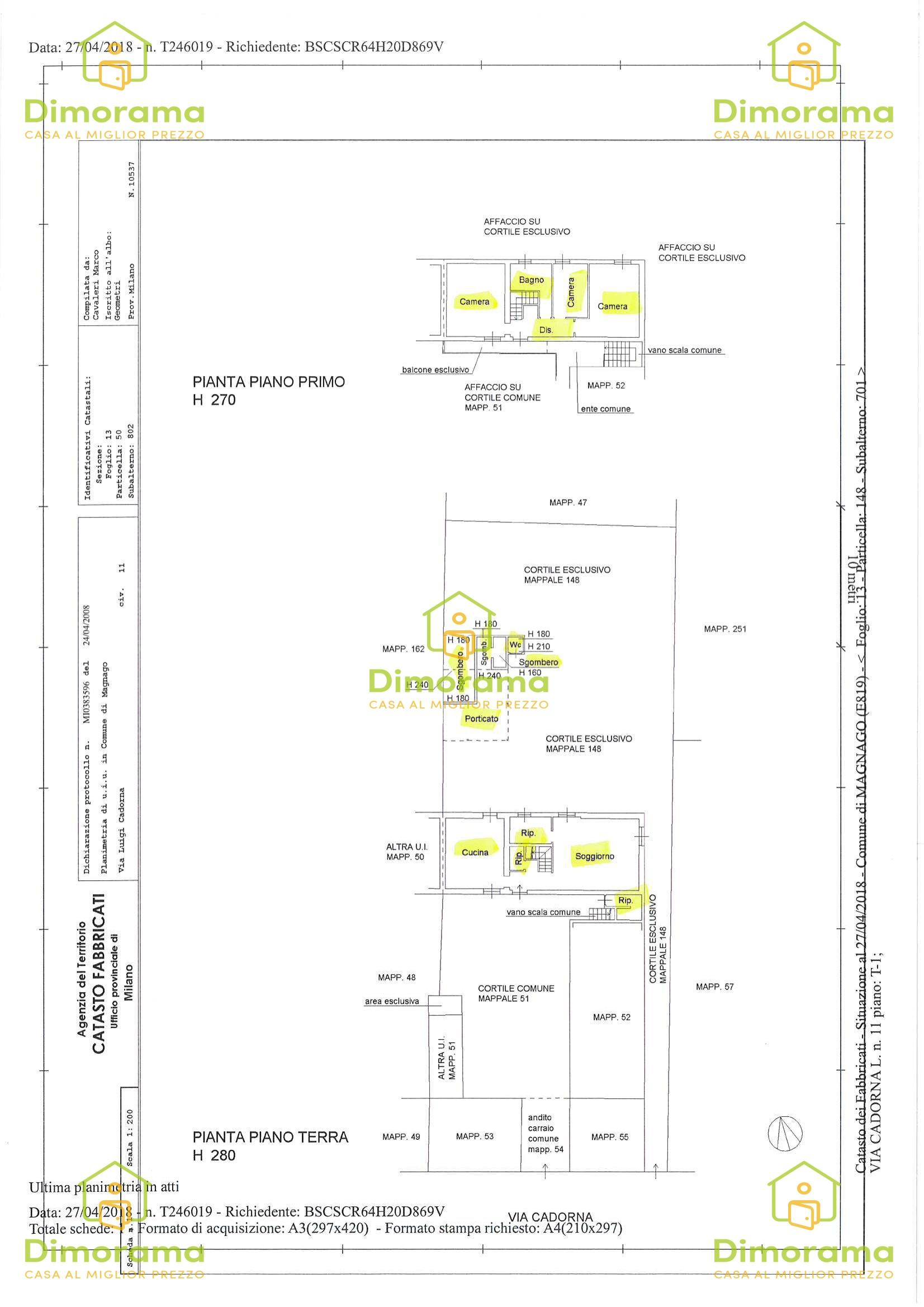 Appartamento in vendita Rif. 11500404