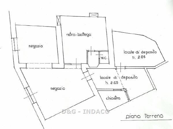 Negozio / Locale in vendita a Grosseto, 5 locali, zona Località: CENTRO STORICO, prezzo € 200.000   Cambio Casa.it
