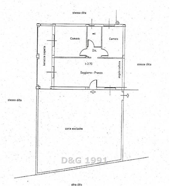 Soluzione Indipendente in affitto a Campagnatico, 3 locali, zona Località: CENTRO, prezzo € 450 | Cambio Casa.it