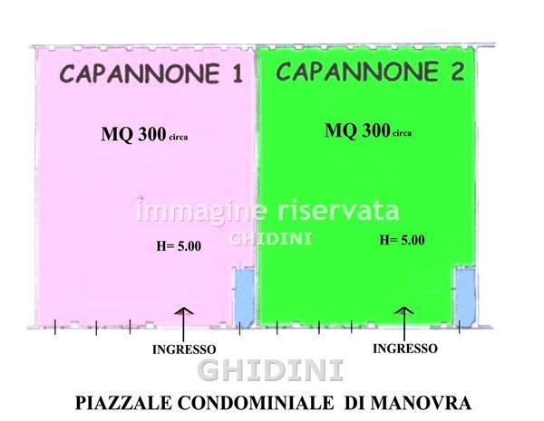 Capannone in affitto a Grosseto, 1 locali, prezzo € 1.200 | CambioCasa.it