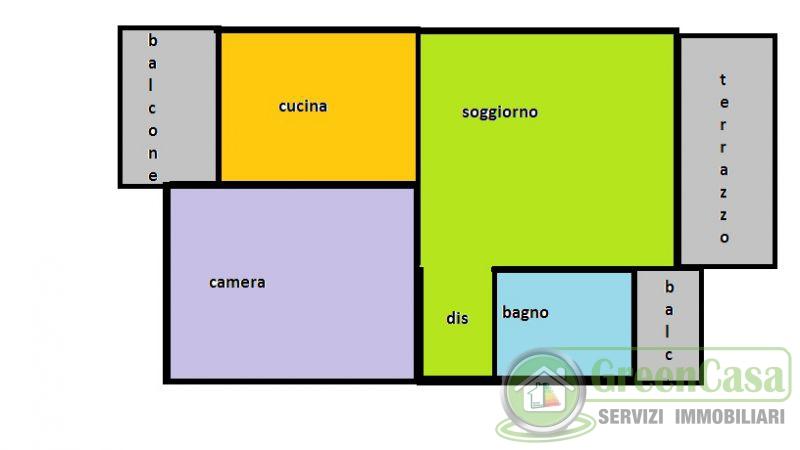 Bilocale Basiano Via Galileo Galilei 13