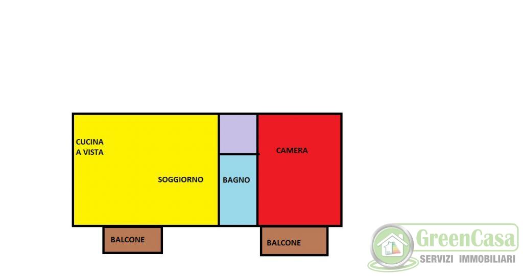 Bilocale Roncello Via Marconi 11