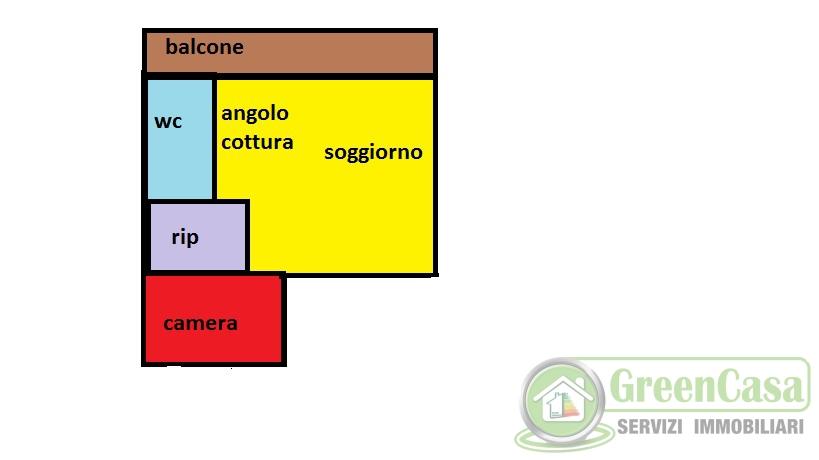 Bilocale Agrate Brianza Via Lecco 11
