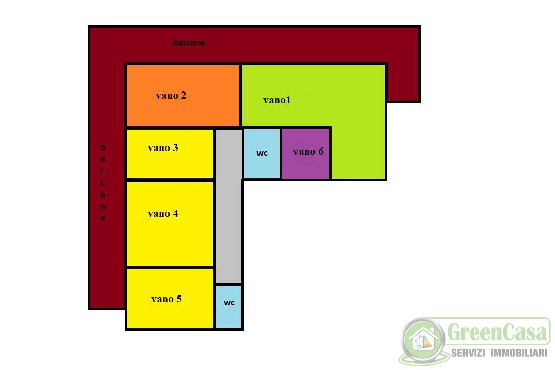 Ufficio in buone condizioni in affitto Rif. 12169990