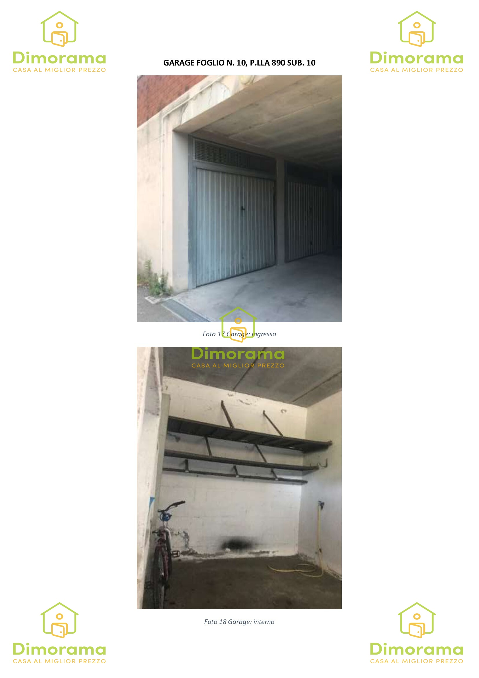 Box e posti auto in vendita Rif. 10286134