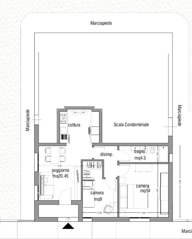 Appartamento in vendita Rif. 6428085