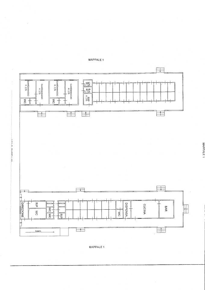 Viareggio, vendesi stabilimento balneare composto da: 2 treni da circa 50 cabine numerate, con bar e ristorante aperoi appena 5 anni fa, quindi con tutto a norma e con attrezzature pressoche nuove, 8 file di ombrelloni per un totale di circa 120 ombrelli e 2 bilocali gemelli con 3 vani cascuno. Rif. 8321082