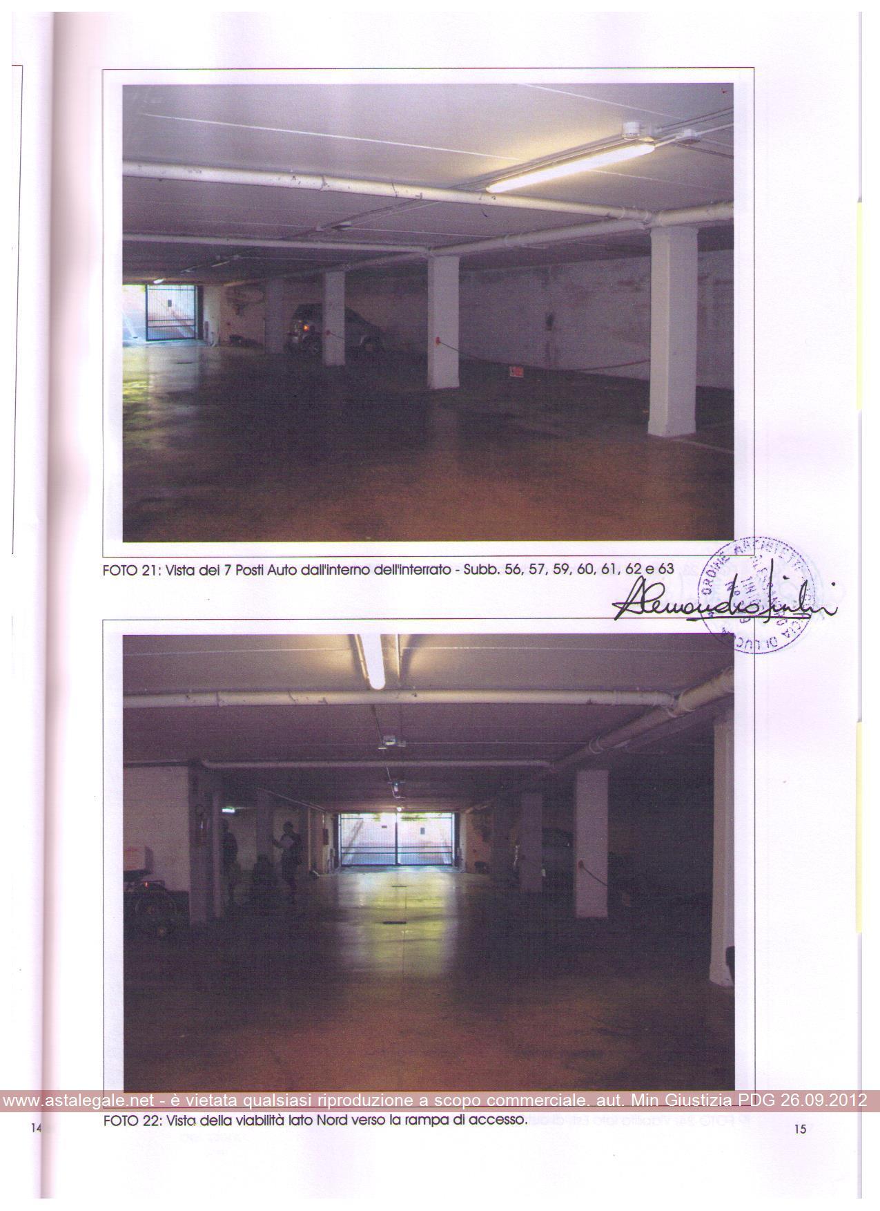 Box e posti auto in vendita Rif. 11350622
