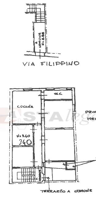 Bilocale Prato Via Filippino 18 2