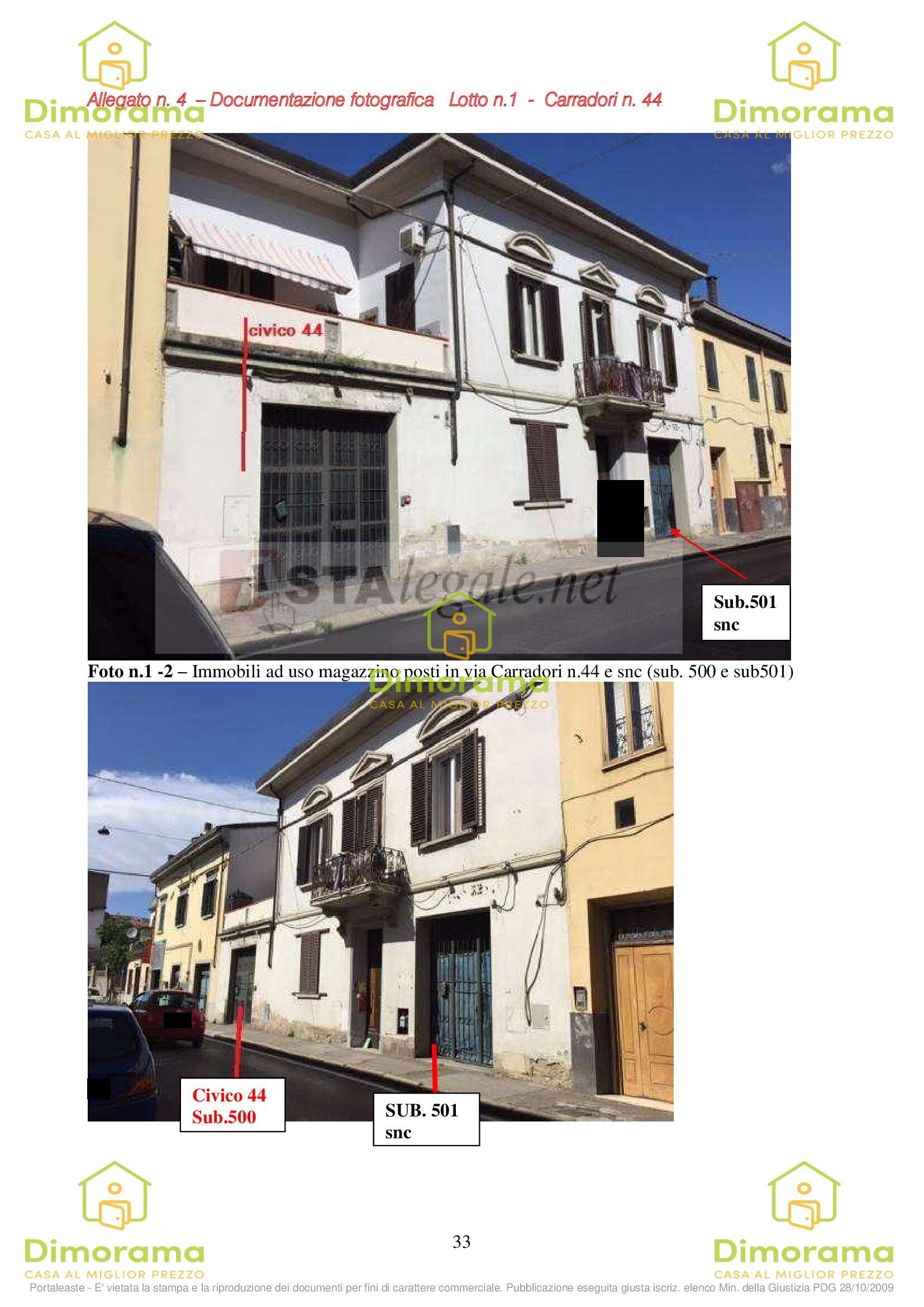 Magazzino - capannone in vendita Rif. 11690422