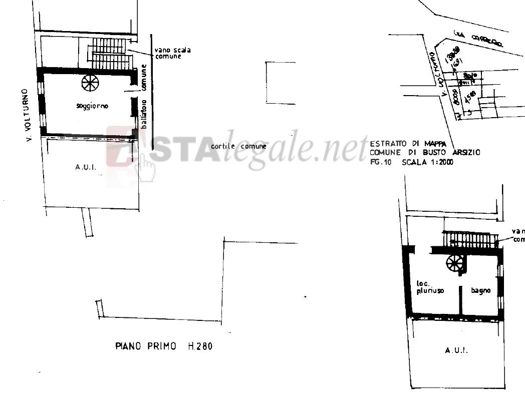 Appartamento in vendita Via Volturno 12 Busto Arsizio