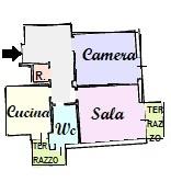 Rif. 3M – Appartamento in Vendita
