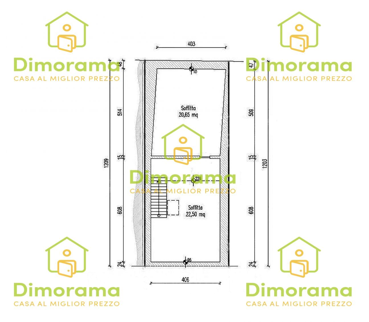 Appartamento in buone condizioni in vendita Rif. 12092076