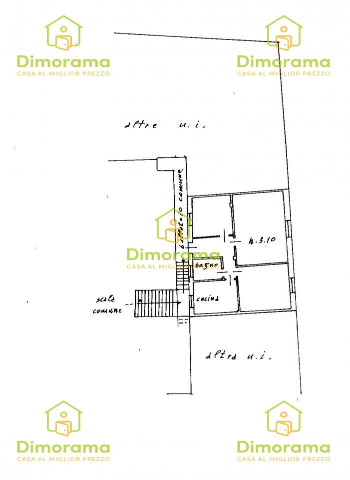 Appartamento in discrete condizioni in vendita Rif. 12100279