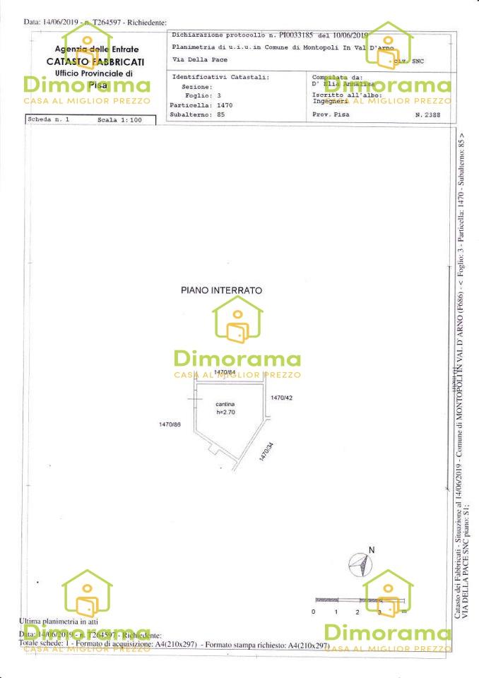 Appartamento MONTOPOLI IN VAL D'ARNO PI1251735
