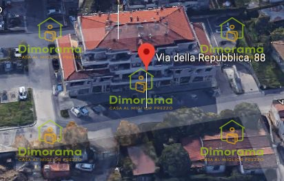 Garage quadrilocale in vendita a Quarrata (PT)