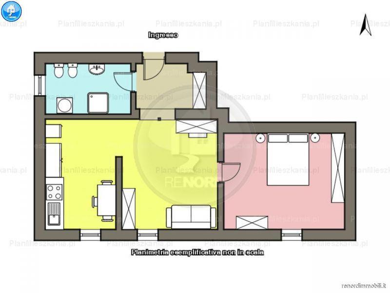 Vendita  bilocale Copiano Via Don Emilio Marchesi 1 992613