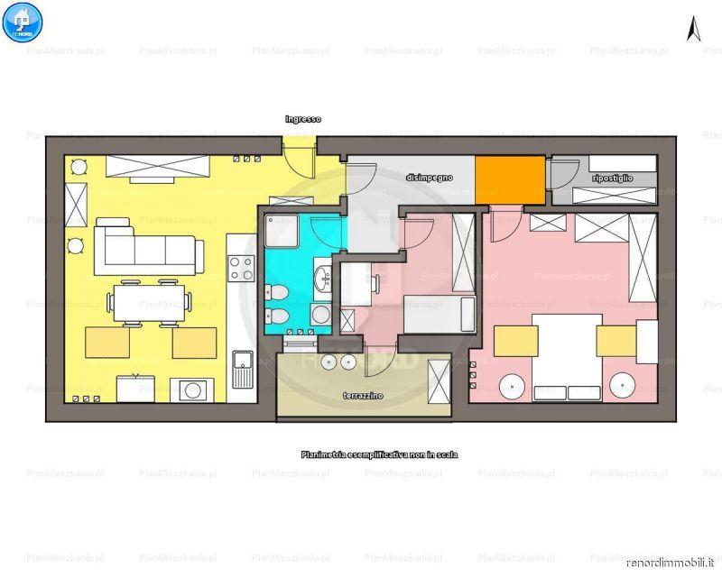 Appartamento in vendita a Albuzzano, 3 locali, prezzo € 63.000 | PortaleAgenzieImmobiliari.it