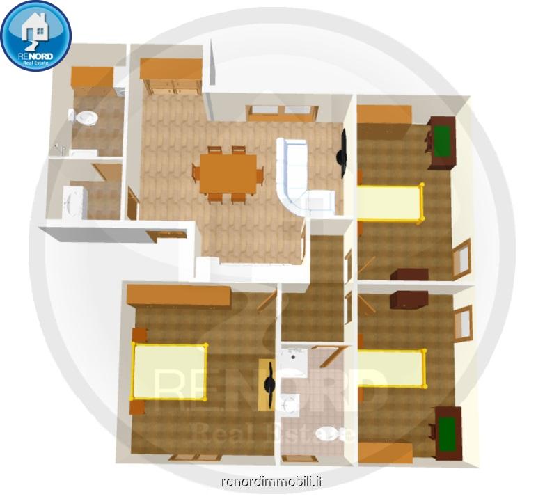 Appartamento in vendita Rif. 9050238