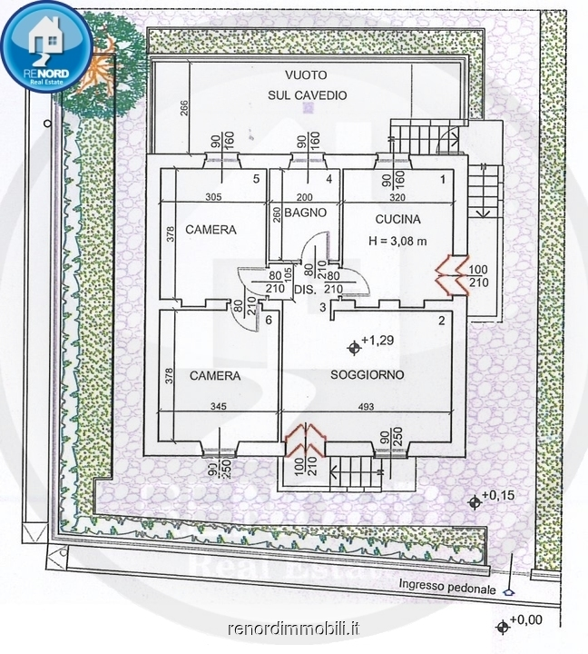 Villa PAVIA vendita    R.E.NORD DI GIUSEPPE SCARFONE