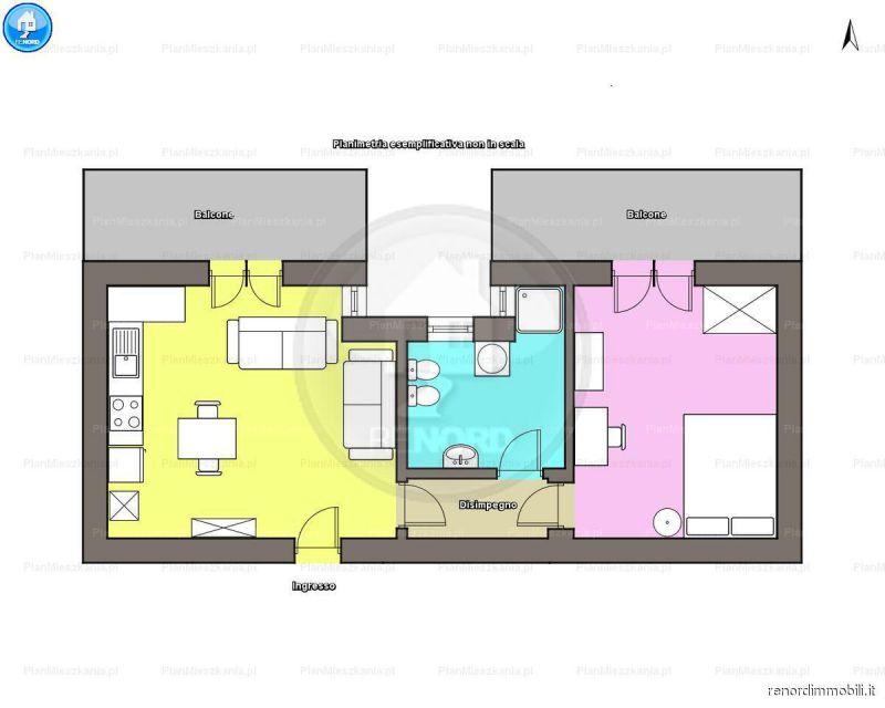 Appartamento TORREVECCHIA PIA vendita   Via De Andrè R.E.NORD DI GIUSEPPE SCARFONE