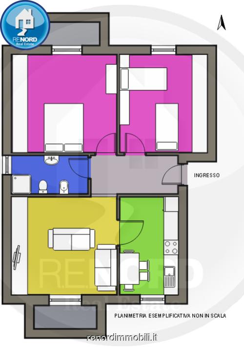 Appartamento BELGIOIOSO vendita   Via XX Settembre R.E.NORD DI GIUSEPPE SCARFONE